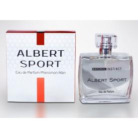 Мужская парфюмерная вода с феромонами Natural Instinct Albert Sport - 100 мл.