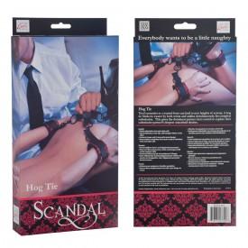 Атласные фиксаторы для рук и ног Scandal Hog Tie