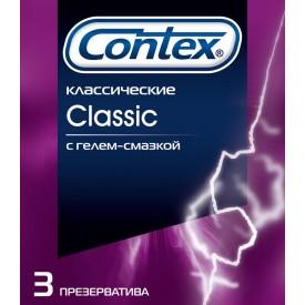 Классические презервативы Contex Classic - 3 шт.