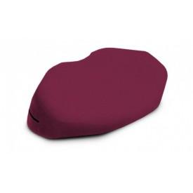 Бордовая вельветовая подушка для любви Liberator Retail Arche Wedge